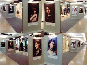 Pameran foto cetak kanvas plaza indonesia